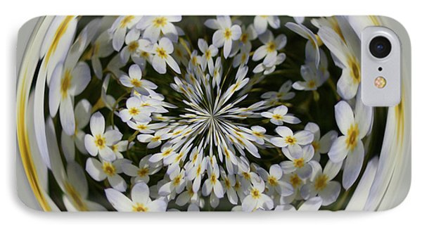 IPhone Case featuring the photograph Wildflowers Orb by Bill Barber