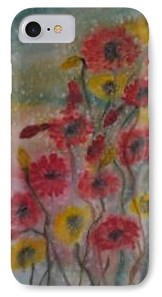 Wildflowers Still Life Modern Print Phone Case by Derek Mccrea