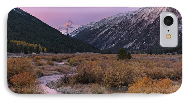 Wildhorse Creek Autumn Sunrise IPhone Case