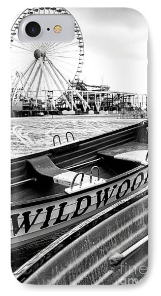 Wildwood Black Phone Case by John Rizzuto