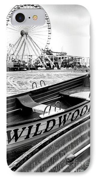 Wildwood Black Phone Case by John Rizzuto