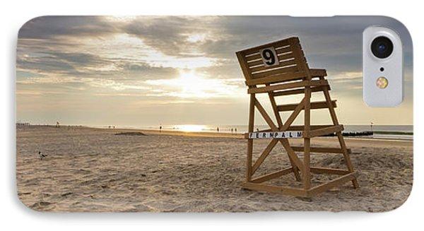 Wildwood Crest New Jersey Sunrise IPhone Case