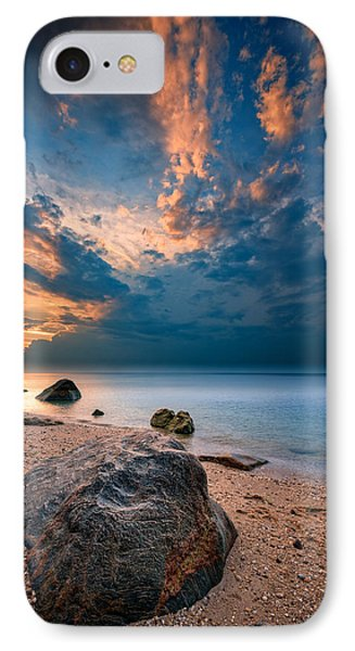 Wildwood Sunset IPhone Case by Rick Berk