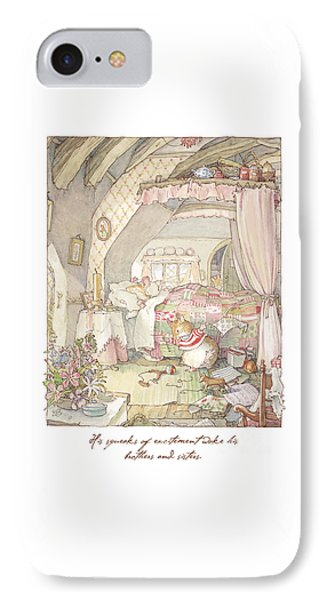 Wilfred's Birthday Morning IPhone Case by Brambly Hedge