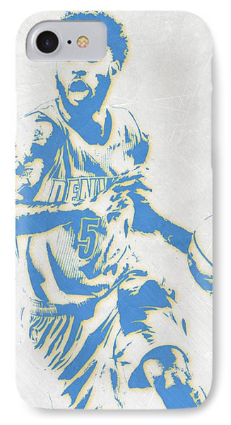 Will Barton Denver Nuggets Pixel Art IPhone Case