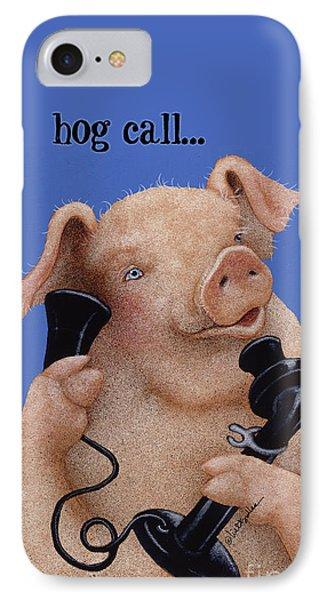 Will Bullas Phone Cover Hog Call  IPhone Case