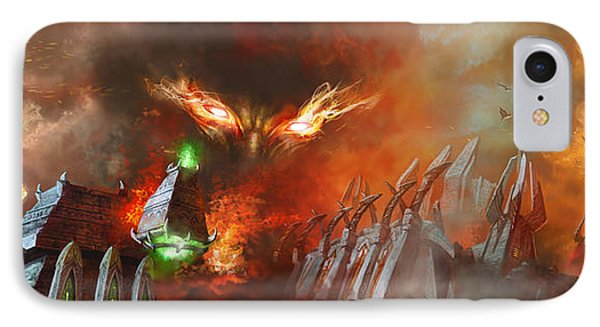 Will Of A Tyrant IPhone Case by Ryan Barger