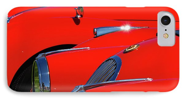 IPhone Case featuring the photograph Will The Owner Of The Red Car by John Schneider