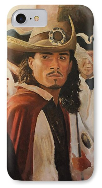 Will Turner IPhone Case by Caleb Thomas