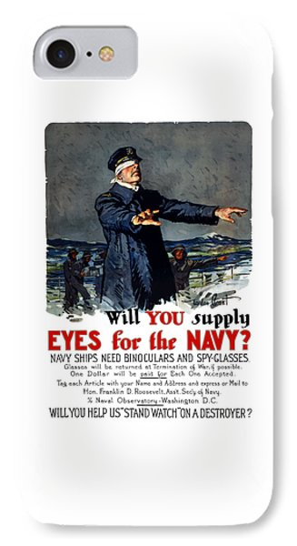 Will You Supply Eyes For The Navy Phone Case by War Is Hell Store