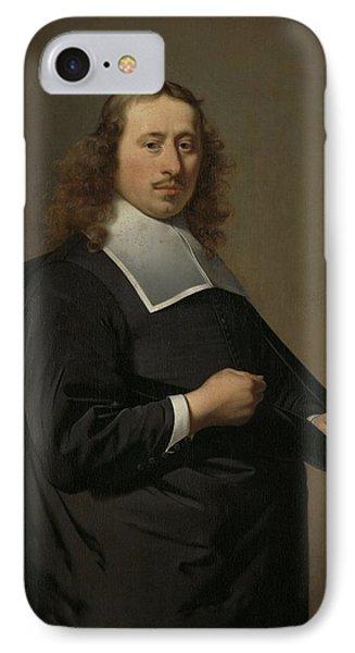 Willem Jacobsz Baert 1636-84, Burgomaster Of Alkmaar And Amsterdam, Caesar Boetius Van Everdingen, 1 IPhone Case by Celestial Images