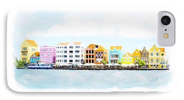 Willemstad Curacao Skyline IPhone Case