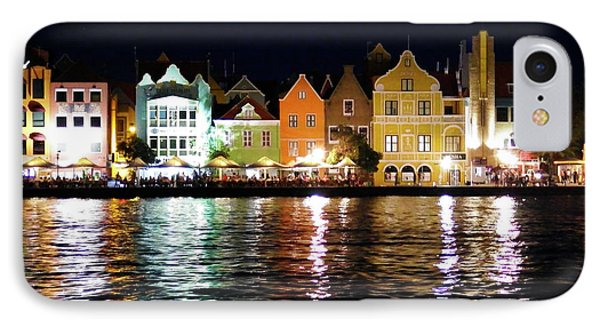 IPhone Case featuring the photograph Willemstad, Island Of Curacoa by Kurt Van Wagner