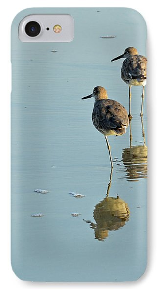 Willets On Jekyll IPhone Case by Bruce Gourley