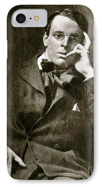 IPhone Case featuring the photograph William Butler Yeats by Pg Reproductions