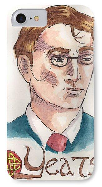 William Butler Yeats IPhone Case