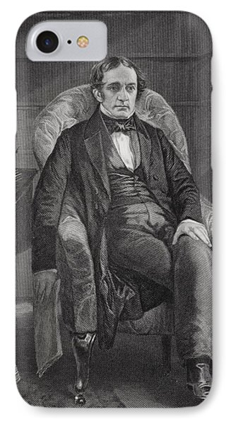 William Hickling Prescott 1796 To 1859 IPhone Case by Vintage Design Pics