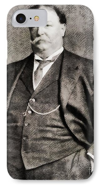 William Howard Taft, President Of The United States By John Springfield IPhone Case