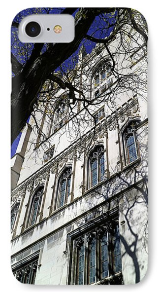 IPhone Case featuring the photograph William Rainey Harper Memorial Library by Scott Kingery