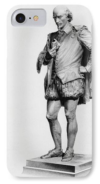 William Shakespeare 1564 To 1616 IPhone Case by Vintage Design Pics