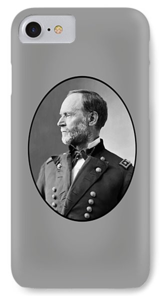 William Tecumseh Sherman Phone Case by War Is Hell Store