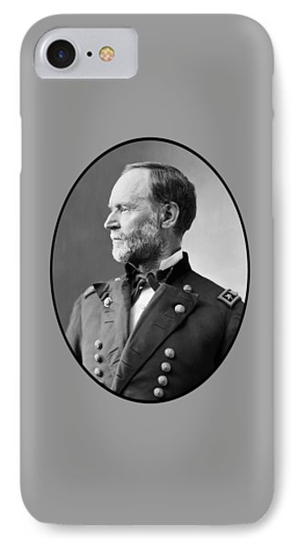 William Tecumseh Sherman IPhone Case by War Is Hell Store