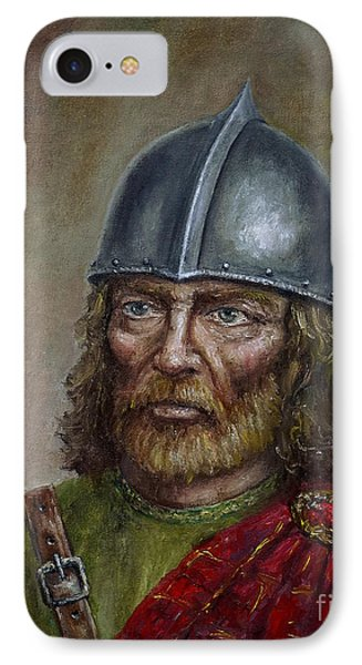 William Wallace IPhone Case by Arturas Slapsys
