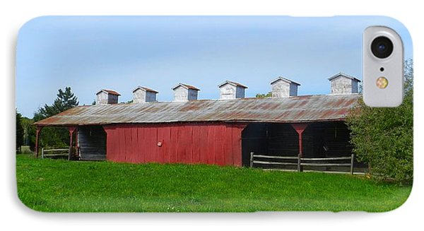 Williams Corncrib IPhone Case by Julie Dant