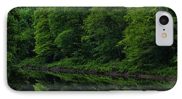 Williams River Spring Reflections IPhone Case by Thomas R Fletcher