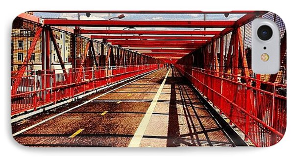 Williamsburg Bridge - New York City IPhone Case