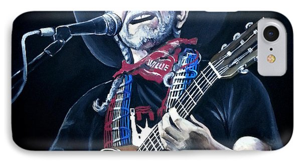 Willie Nelson 2 IPhone Case