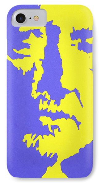Willie Nelson In The Mirror IPhone Case by Robert Margetts