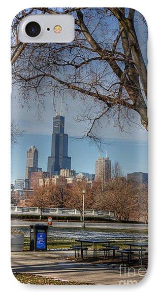 Willis Tower IPhone Case by David Bearden