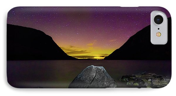 Willoughby Aurora And Boulder IPhone Case by Tim Kirchoff