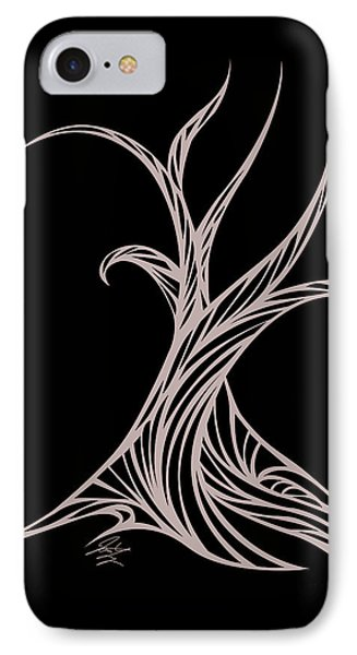 Willow Curve IPhone Case