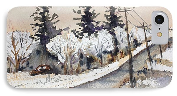 Willow Springs Road IPhone Case