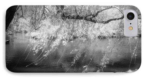 Willow Tree Lake II IPhone 7 Case by Dave Beckerman