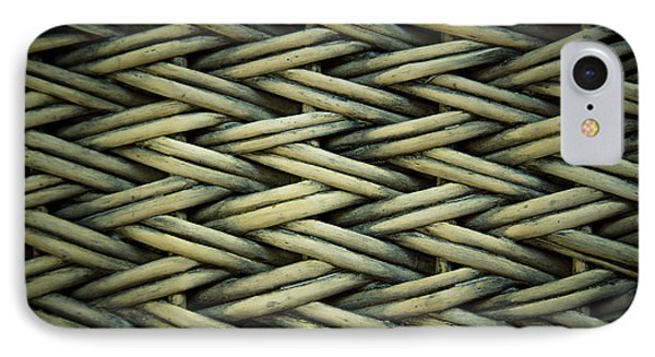 IPhone Case featuring the photograph Willow Weave by Les Cunliffe