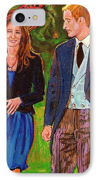 Wills And Kate The Royal Couple IPhone Case