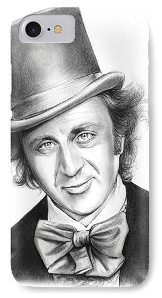 Willy Wonka IPhone Case by Greg Joens