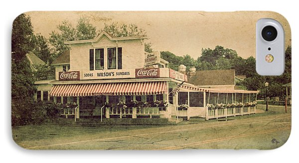 Wilson's Restaurant And Ice Cream Parlor IPhone Case by Joel Witmeyer