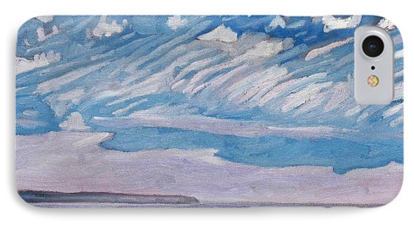 Wimpy Cold Front Phone Case by Phil Chadwick