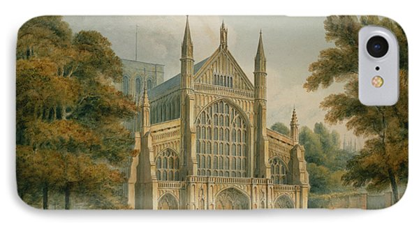 Winchester Cathedral IPhone Case by John Buckler
