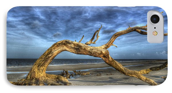 Wind Bent Driftwood IPhone Case