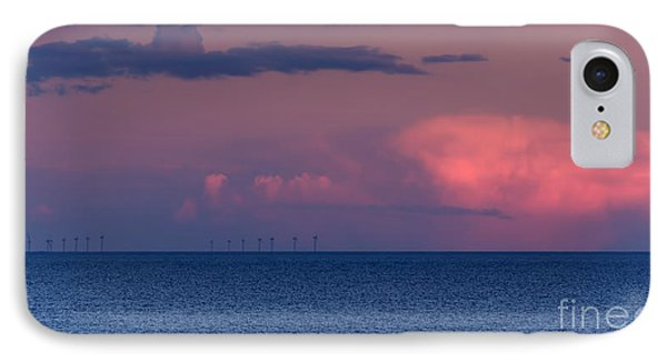 Wind Farm IPhone Case by David  Hollingworth