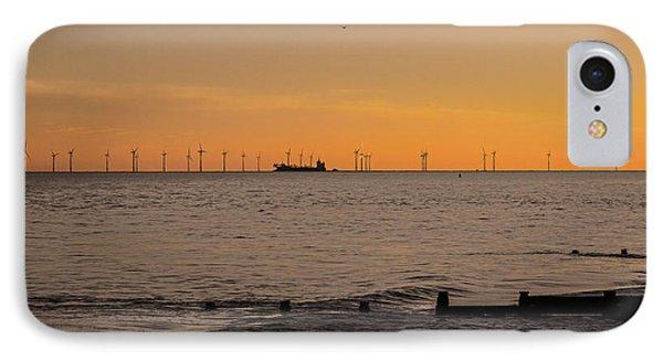 Wind Farm IPhone Case by Martin Newman