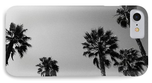 Miami iPhone 7 Case - Wind In The Palms- By Linda Woods by Linda Woods