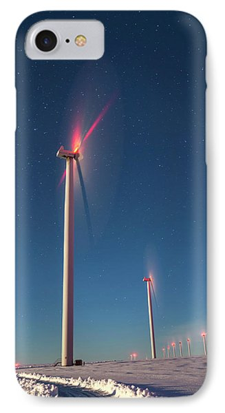 IPhone Case featuring the photograph Wind Power by Cat Connor