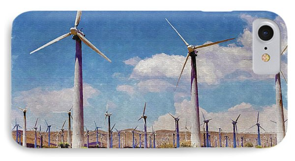 Wind Power IPhone Case