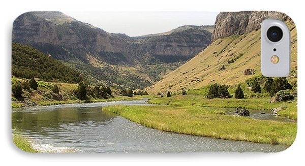 Wind River Canyon 1 IPhone Case by George Jones